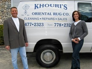 Joe and Marion with Khouri Truck