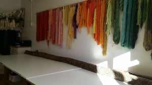 Oriental Rug Repairing Workbench