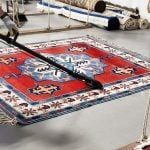 Extracting Shampoo from and Oriental Rug at Khouri's
